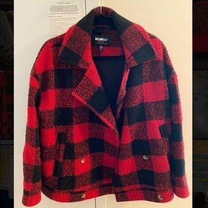 William Rast Boyd Buffalo Plaid Jacket